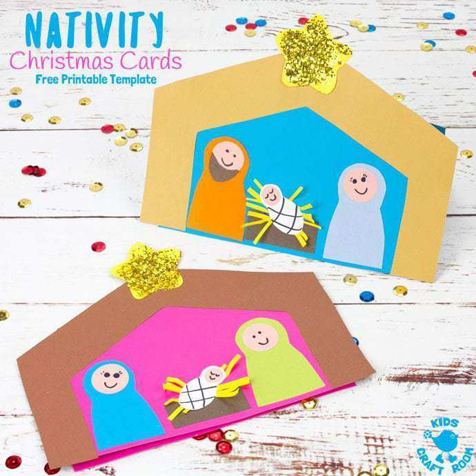 14 Customize Our Free Christmas Card Nativity Templates PSD File with Christmas Card Nativity Templates
