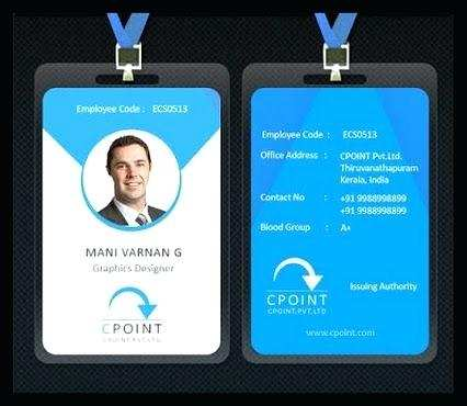 14 Customize Our Free Employee I Card Template PSD File by Employee I Card Template