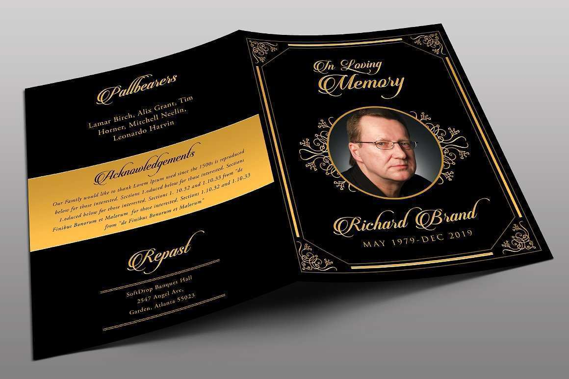14 Customize Our Free Funeral Flyer Templates for Ms Word for Funeral Flyer Templates