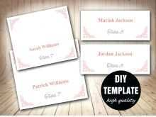 Place Card Template Word For Mac