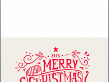 14 Format Aussie Christmas Card Template in Photoshop with Aussie Christmas Card Template