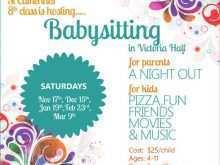 14 Format Babysitting Flyer Free Template Maker with Babysitting Flyer Free Template