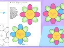 14 Format Mothers Day Card Template Flower for Ms Word with Mothers Day Card Template Flower