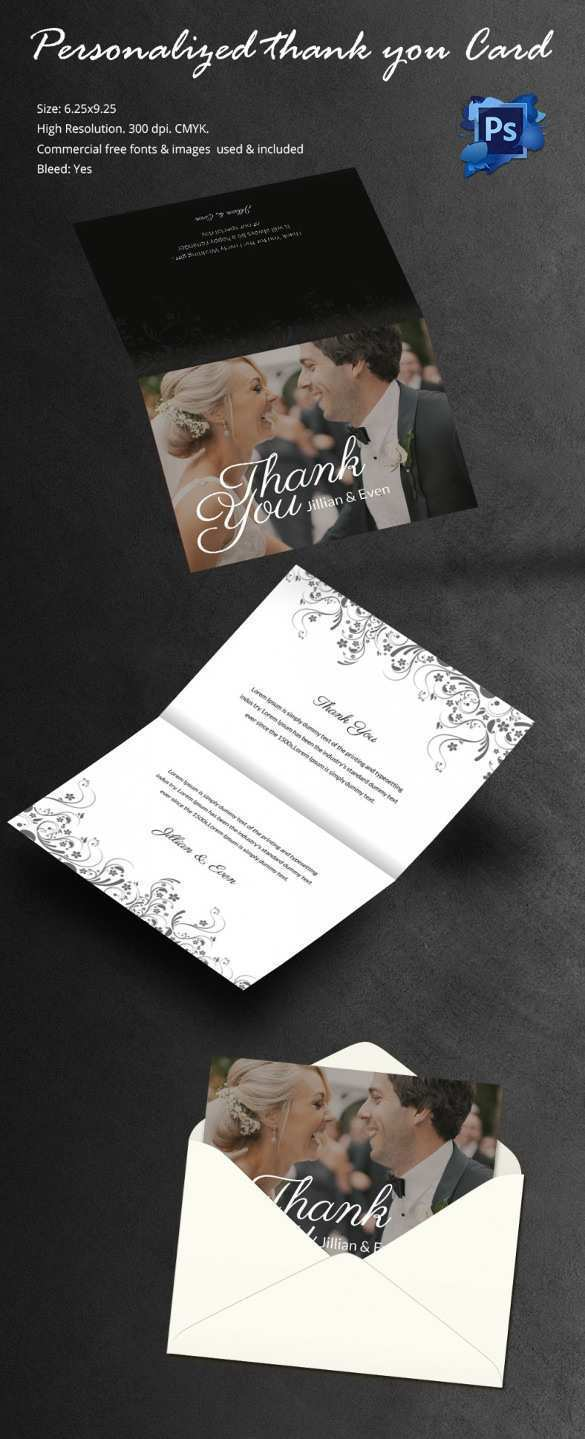 14 Free Printable 4 Fold Thank You Card Template Download for 4 Fold Thank You Card Template