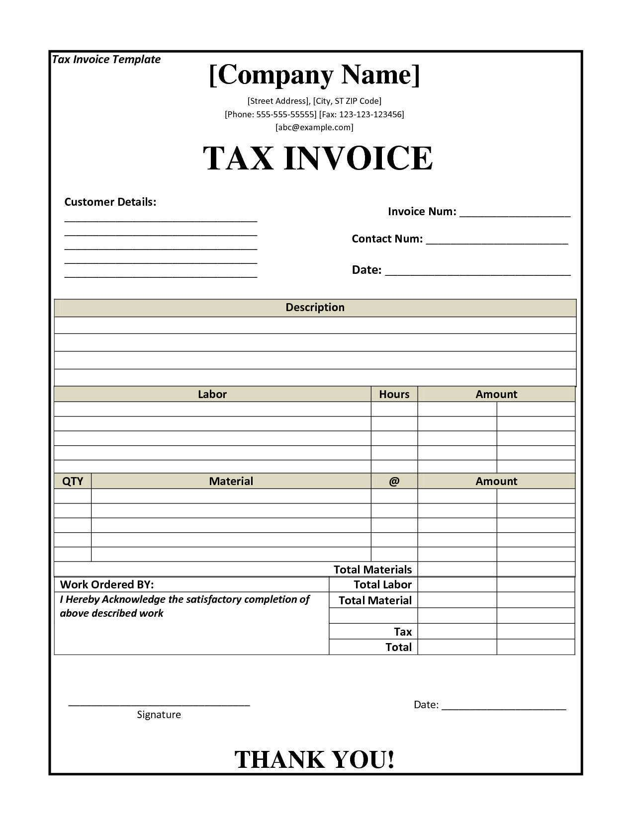 14 How To Create Australian Tax Invoice Template Pdf Maker by Australian Tax Invoice Template Pdf
