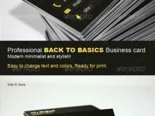 14 How To Create Back Of Business Card Template Templates with Back Of Business Card Template