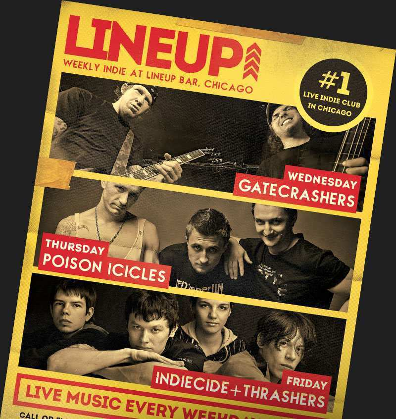 14 Online Band Flyers Templates PSD File by Band Flyers Templates