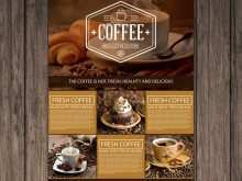 14 Online Cafe Flyer Template For Free for Cafe Flyer Template