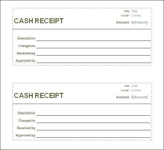 14 Printable Blank Receipt Template Excel For Free For Blank Receipt Template Excel Cards Design Templates