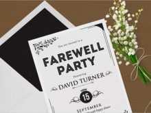 14 Printable Free Farewell Card Template Word Formating by Free Farewell Card Template Word