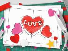 14 Report Pop Up Card Tutorial Valentine in Word for Pop Up Card Tutorial Valentine
