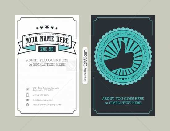 14 Standard Business Card Template Eps Vector Free Download With Stunning Design with Business Card Template Eps Vector Free Download