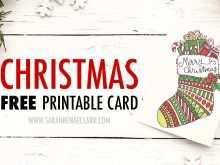 14 Standard Christmas Card Template Print Now for Christmas Card Template Print
