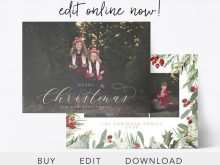 14 The Best Christmas Card Templates Etsy Now by Christmas Card Templates Etsy