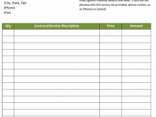 14 The Best Construction Company Invoice Template Excel PSD File with Construction Company Invoice Template Excel