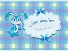 14 Visiting Baby Shower Name Card Template Photo with Baby Shower Name Card Template