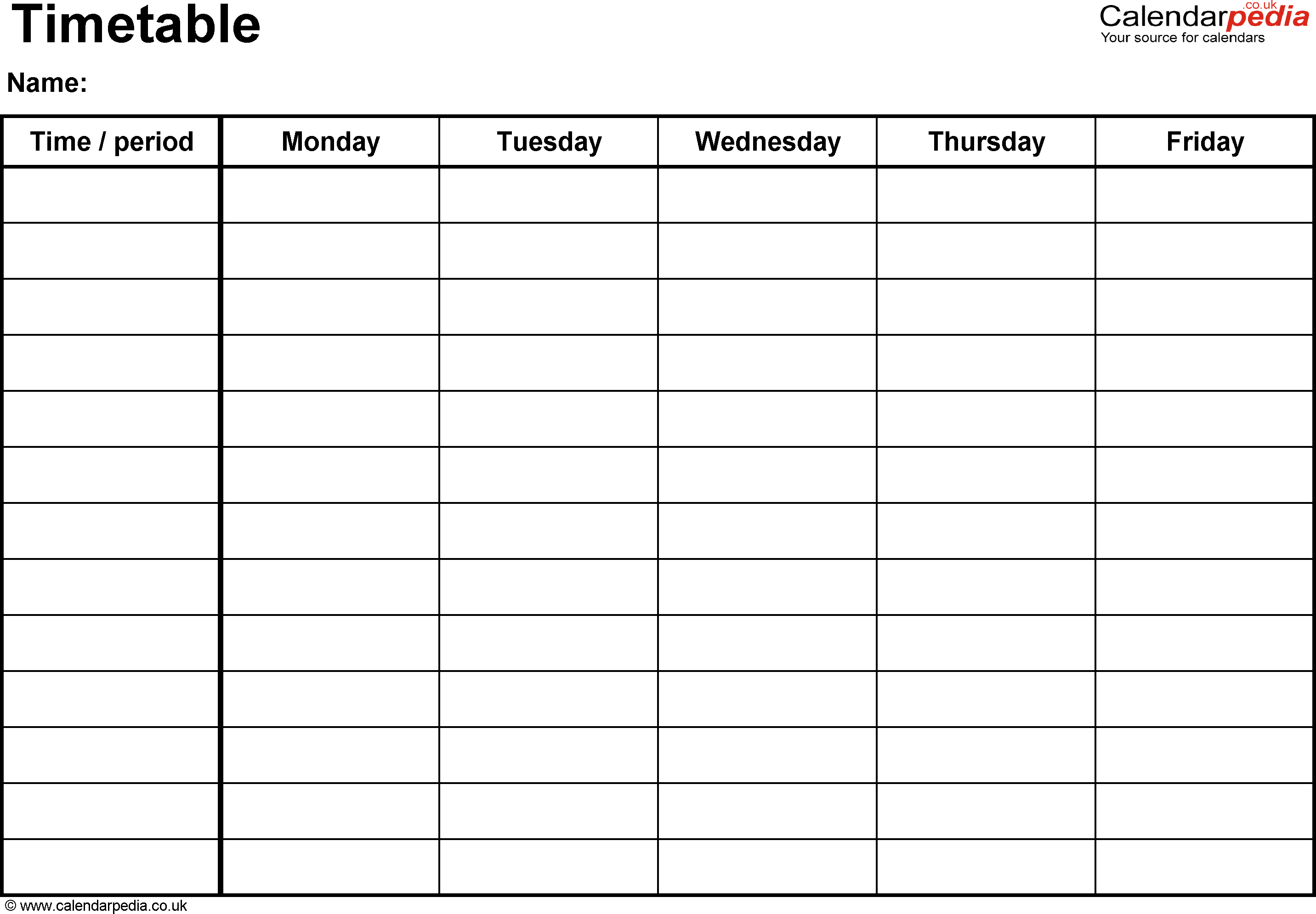 14 Visiting Class Timetable Template Free Templates for Class Timetable Template Free