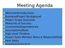 15 Best Meeting Agenda Template Ppt Free Layouts for Meeting Agenda Template Ppt Free
