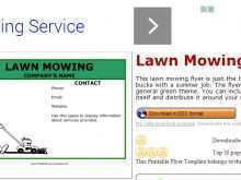 15 Best Mowing Flyer Template Maker by Mowing Flyer Template