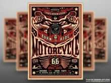 Motorcycle Ride Flyer Template