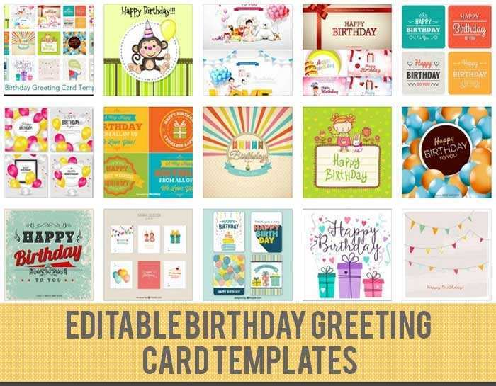 15 Create 15 Birthday Card Template Formating by 15 Birthday Card Template