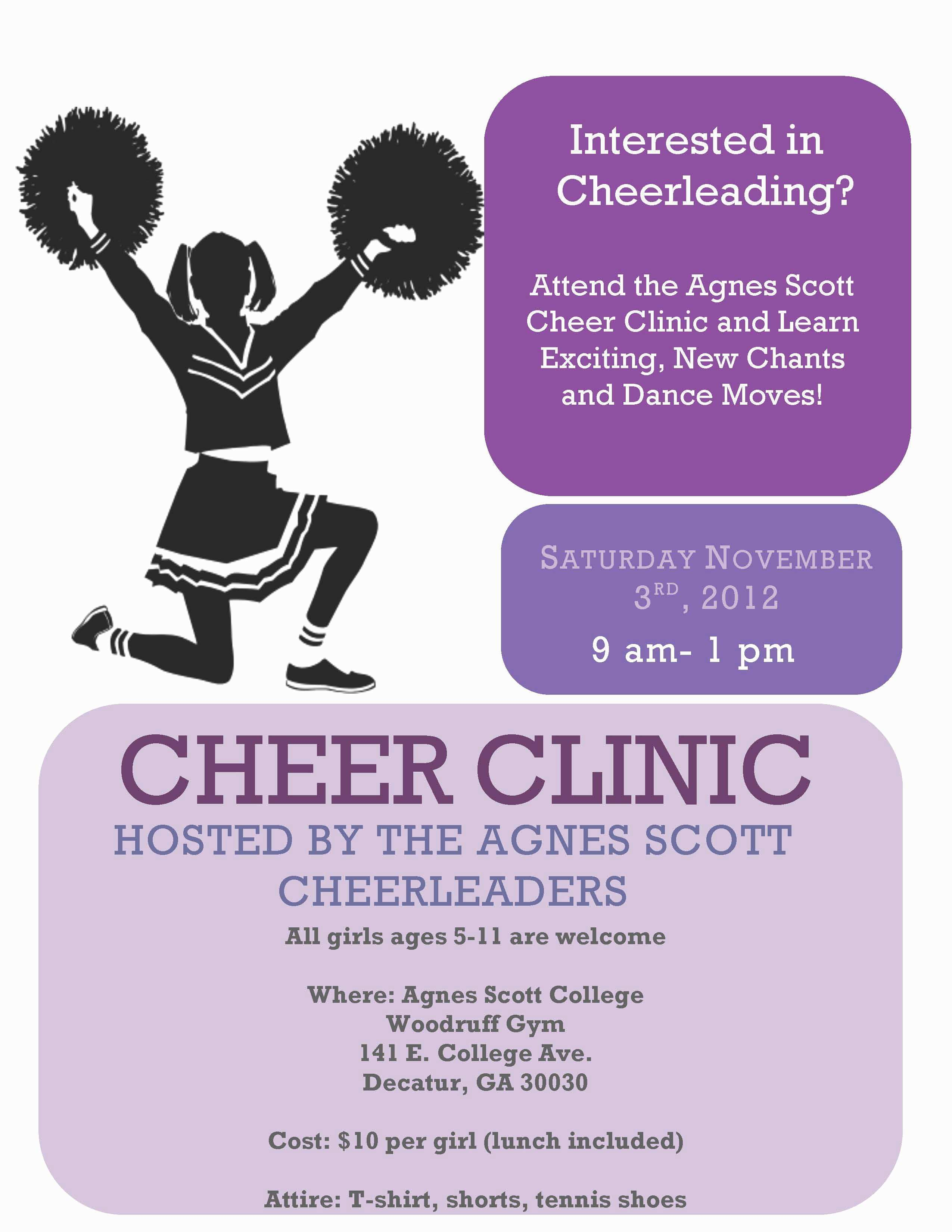 15 Create Cheer Camp Flyer Template in Word for Cheer Camp Flyer Template