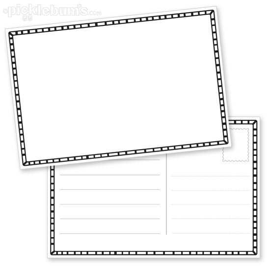 15 Customize Blank Postcard Template With Lines For Free for Blank Postcard Template With Lines