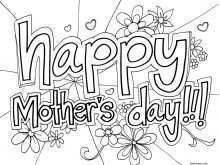 15 Customize Mothers Day Card Templates Free Templates for Mothers Day Card Templates Free