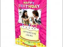 Happy Birthday Card Template Online