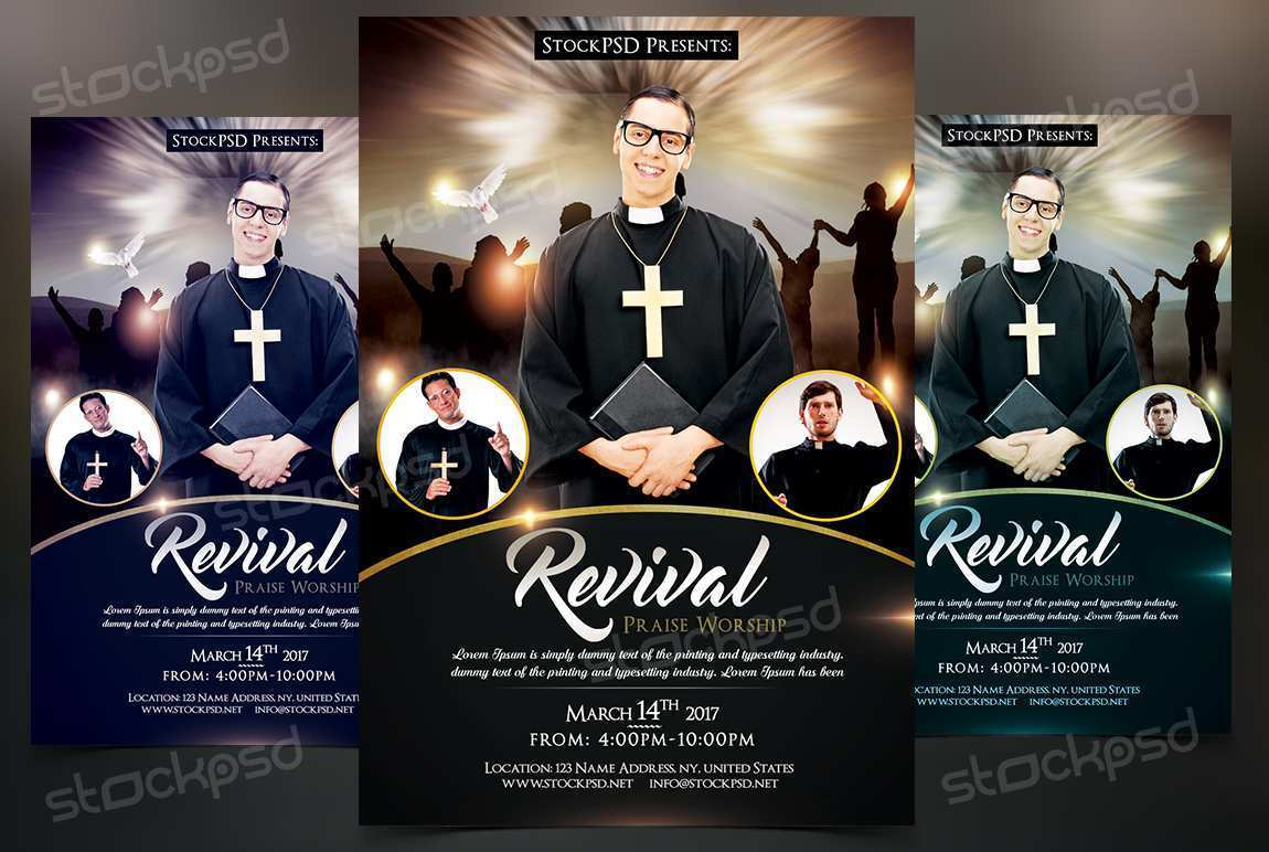 15 Customize Revival Flyer Template Templates for Revival Flyer Template
