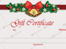15 Format Christmas Gift Card Template Microsoft Word With Stunning Design for Christmas Gift Card Template Microsoft Word