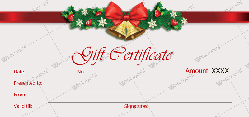 15 Format Christmas Gift Card Template Microsoft Word With Stunning Design For Christmas Gift Card Template Microsoft Word Cards Design Templates