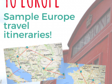 Travel Itinerary Template Paris