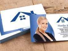 15 Free Business Card Templates Real Estate PSD File with Business Card Templates Real Estate
