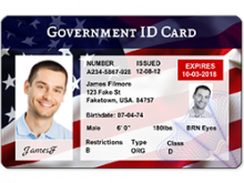15 How To Create American Id Card Template Maker with American Id Card Template