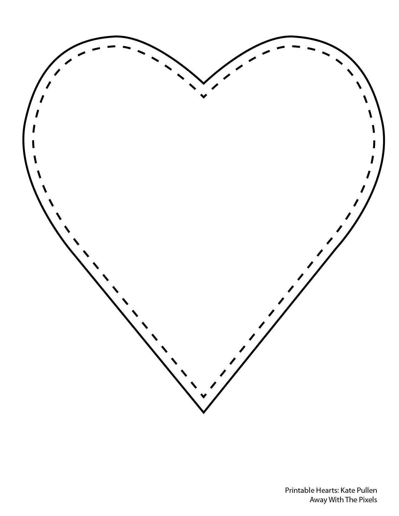 15 How To Create Heart Card Template Printable Templates by Heart Card Template Printable