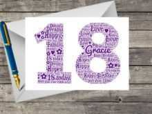 15 Printable 18Th Birthday Card Template Free For Free with 18Th Birthday Card Template Free