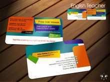 15 Printable Business Card Template English Teacher for Ms Word for Business Card Template English Teacher