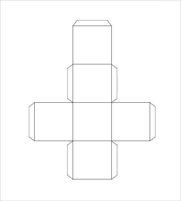 This is a picture of Printable Box Template intended for cupcake box