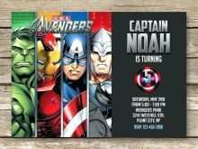 15 Standard Birthday Card Template Avengers in Photoshop with Birthday Card Template Avengers