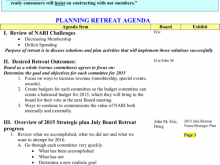15 Standard Board Retreat Agenda Template Now with Board Retreat Agenda Template