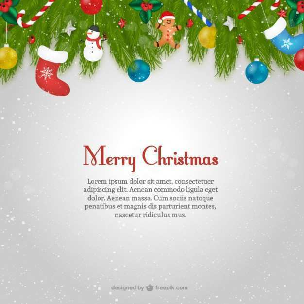 15 Standard Christmas Card Template Text with Christmas Card Template Text
