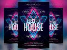 15 Standard Rave Flyer Templates PSD File with Rave Flyer Templates