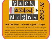 15 The Best Back To School Night Flyer Template Layouts with Back To School Night Flyer Template