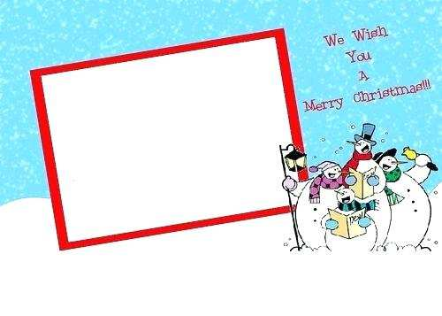 15 The Best Christmas Card Templates In Word for Christmas Card Templates In Word