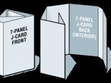 16 4 Panel J Card Template for 4 Panel J Card Template