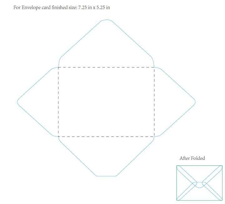 16 Best Card Envelope Template 5X7 with Card Envelope Template 5X7