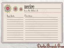 16 Best Christmas Recipe Card Template For Word Download with Christmas Recipe Card Template For Word