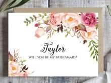 16 Best Flower Card Template Printable in Word for Flower Card Template Printable