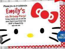 16 Creative Birthday Card Template Hello Kitty With Stunning Design with Birthday Card Template Hello Kitty